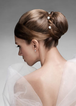 Salon sima bridal hair styles
